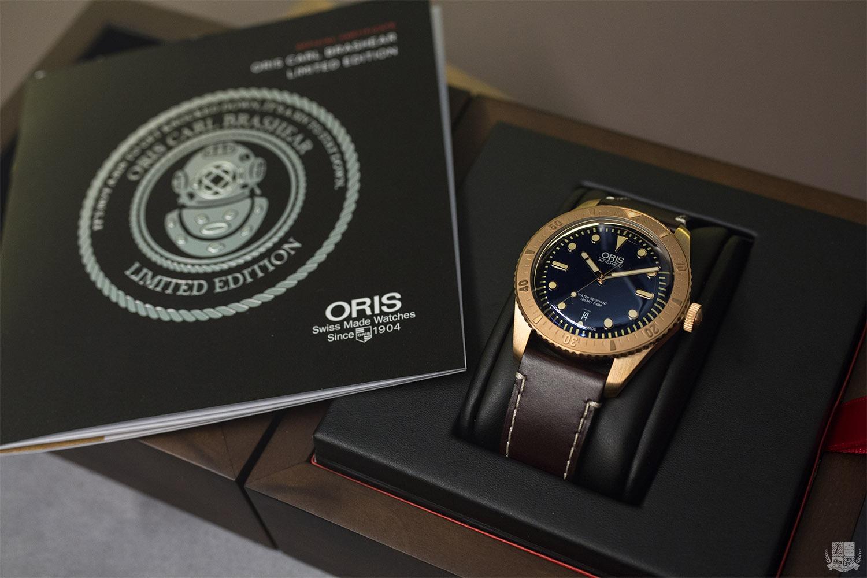 Oris - Carl Brashear Limited Edition
