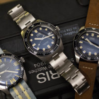 Oris - Diver 65 & Carl Brashear