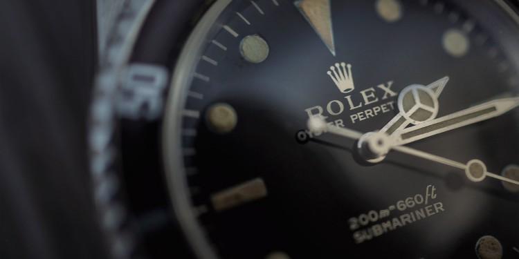 Rolex Submariner 5513 - Focus cadran
