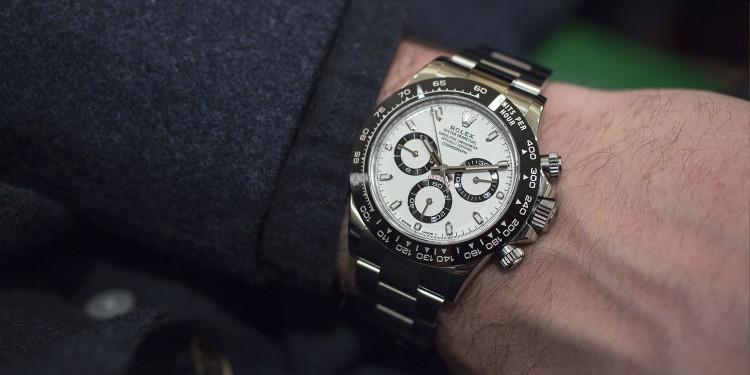 Rolex Daytona cadran blanc 2016 - Baselworld
