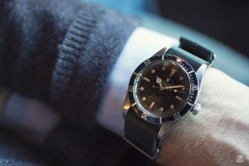 Vintage Rolex Submariner 6536 - wrist