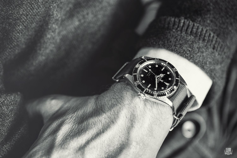 Vintage Rolex Submariner 6536 - look