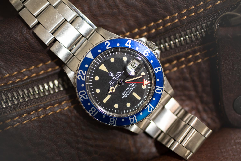 Rolex Vintage GMT Master - focus