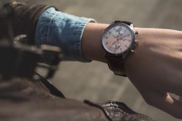 William L Small Chronograph - wrist