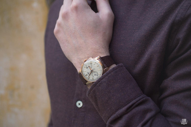 Chemise en flanelle Monti-Bonne gueule - Focus montre