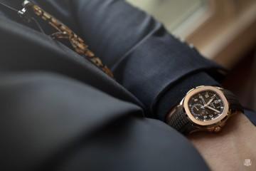 Patek Philippe Aquanaut 5164 - wrist