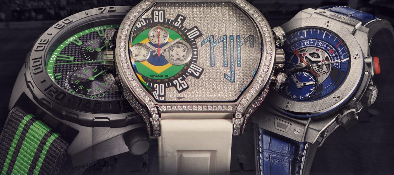 Les montres de Footbaleurs