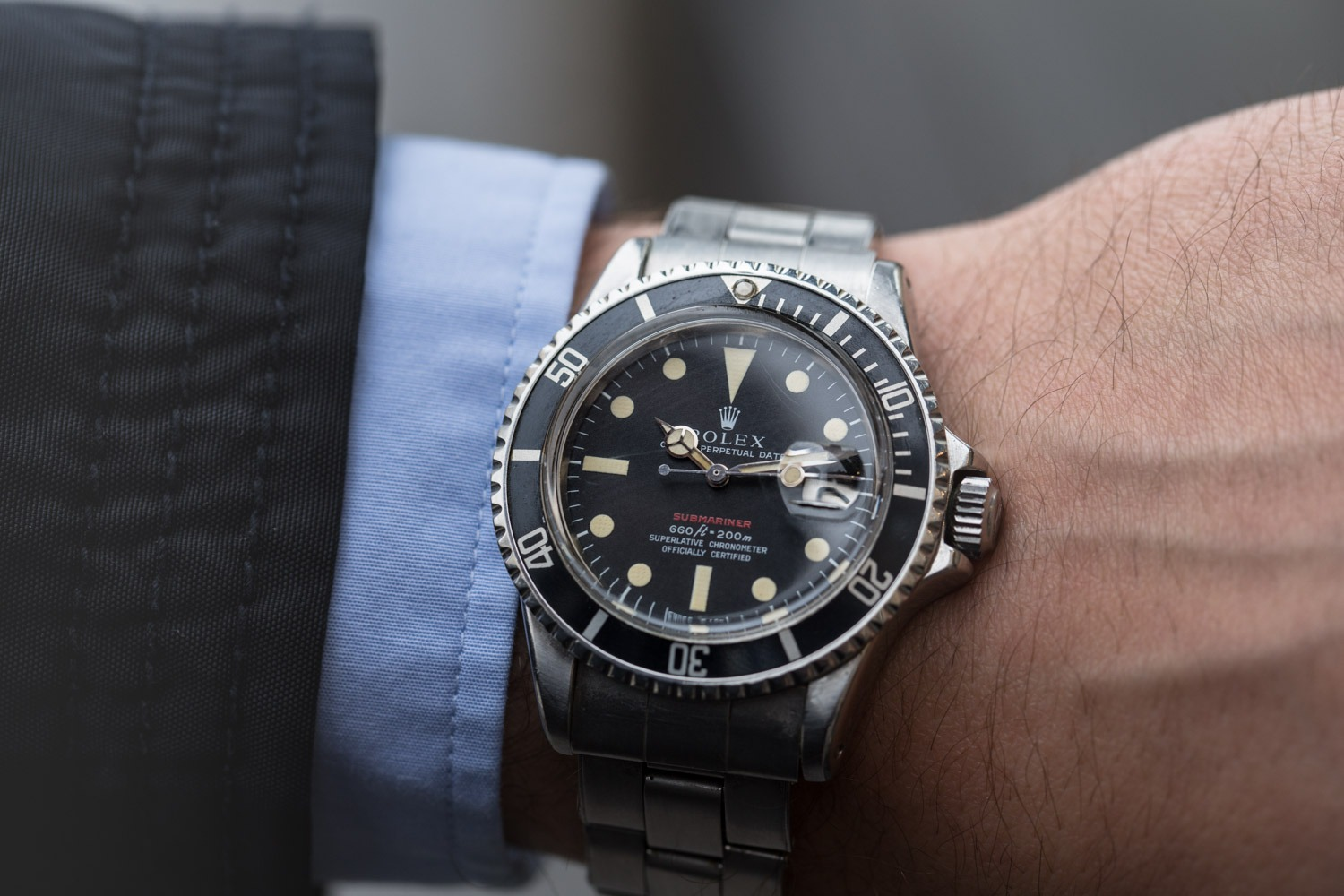 Rolex Submariner 1680 - Red Sub