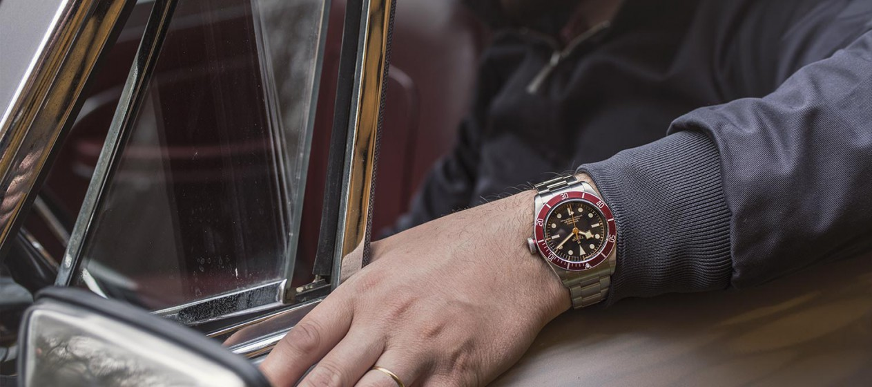 Tudor Heritage Black Bay Red - Mouvement Manufacture