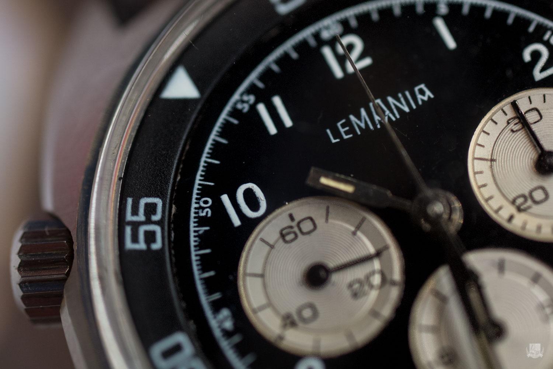 Lemania - Cadran