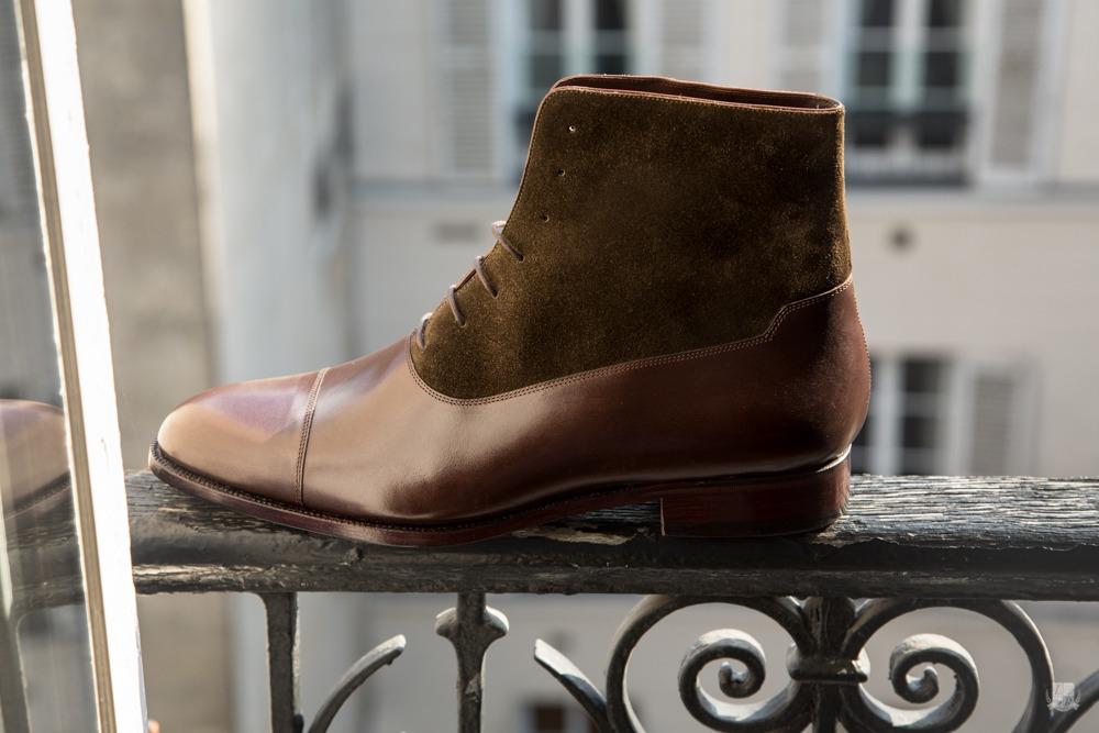 Maison Mauban - Balmoral boots