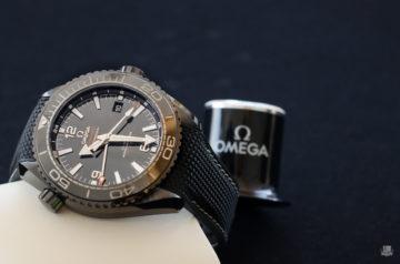 Omega Seamaster PO Deep Black
