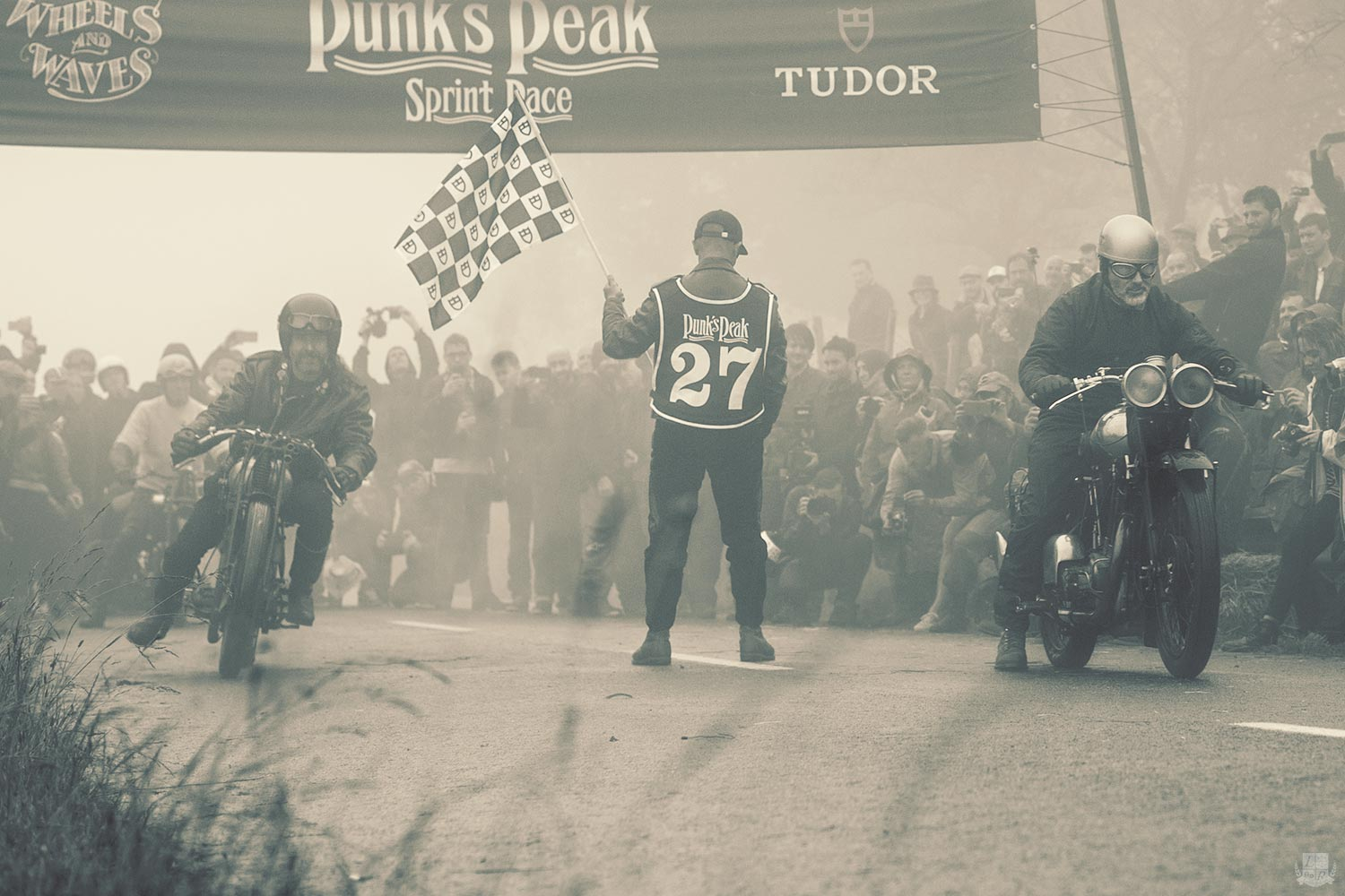 Tudor - Wheels and Waves 2016