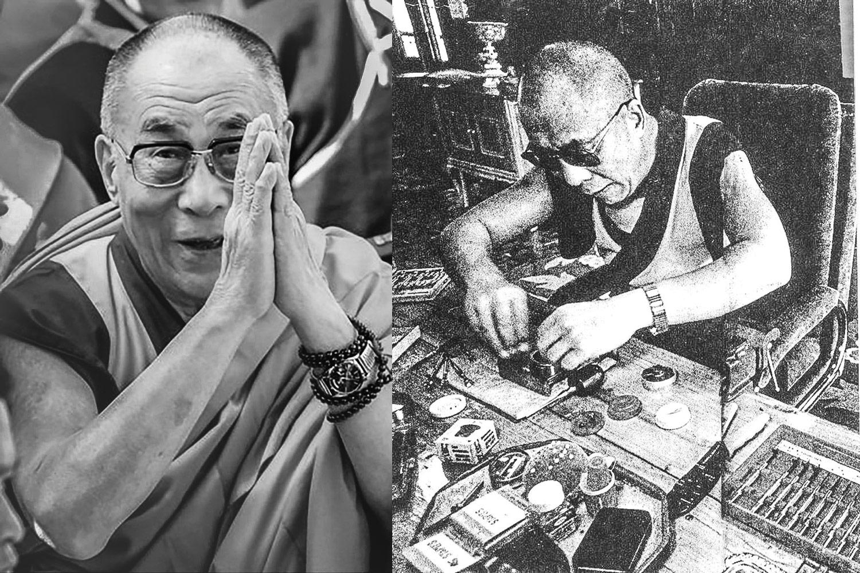 Tenzin Gyatso - XIVe Dalai Lama - Rolex