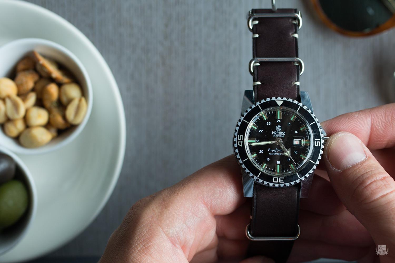 Mortima SuperDatomatic - Bracelet Nato Joseph Bonnie