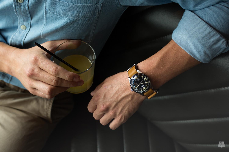 Oris Diver 65 - bracelet Nato
