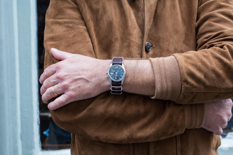 Bracelet Nato en cuir - Joseph Bonnie