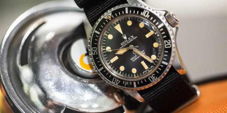 Rolex Submariner 5513/17 Sub Militaire Anglaise 1977