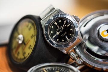 Rolex Submariner 5513 - Pointed Crown Guard, Cadran Laqué, Point d'exclamation