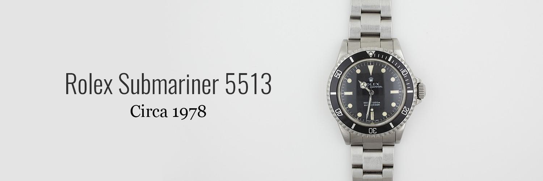 Rolex-submariner-5513-1978