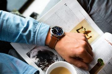 Bracelet de montre en Cuir Barenia Marron - Joseph Bonnie