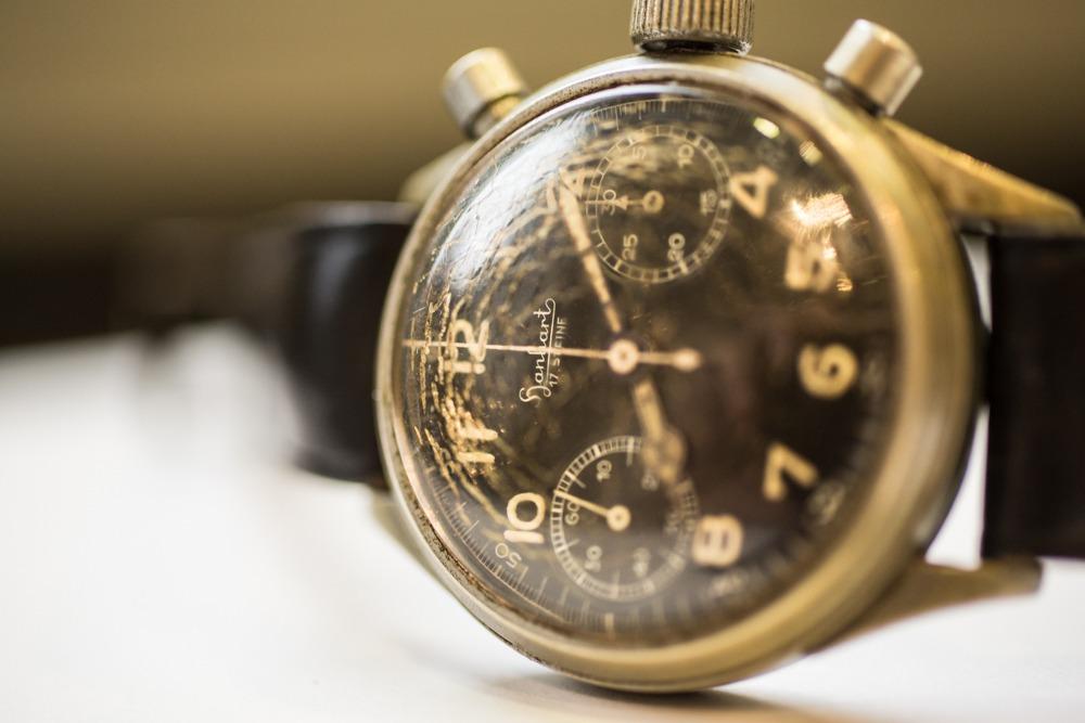Hanhart : Chronographe militaire de pilote