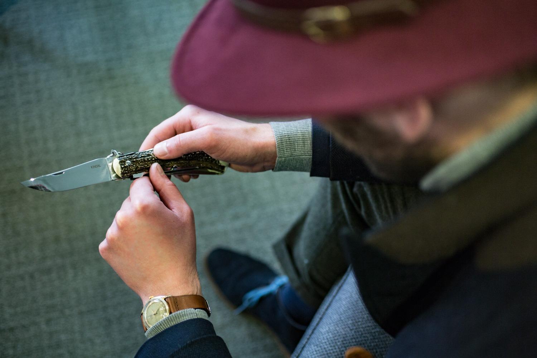 Couteau pliant Mongin - Kindal : Le Hemingway
