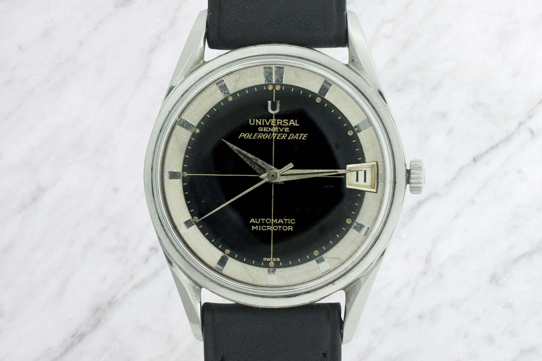 Universal Geneve Polerouter Date Vintage