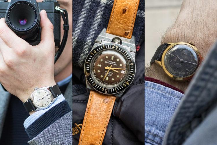 Trio Gagnant - Collection de 3 montres