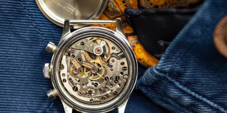 Nivada Grenchen Chronomaster Aviator Sea Diver Chronograph - Valjoux 92