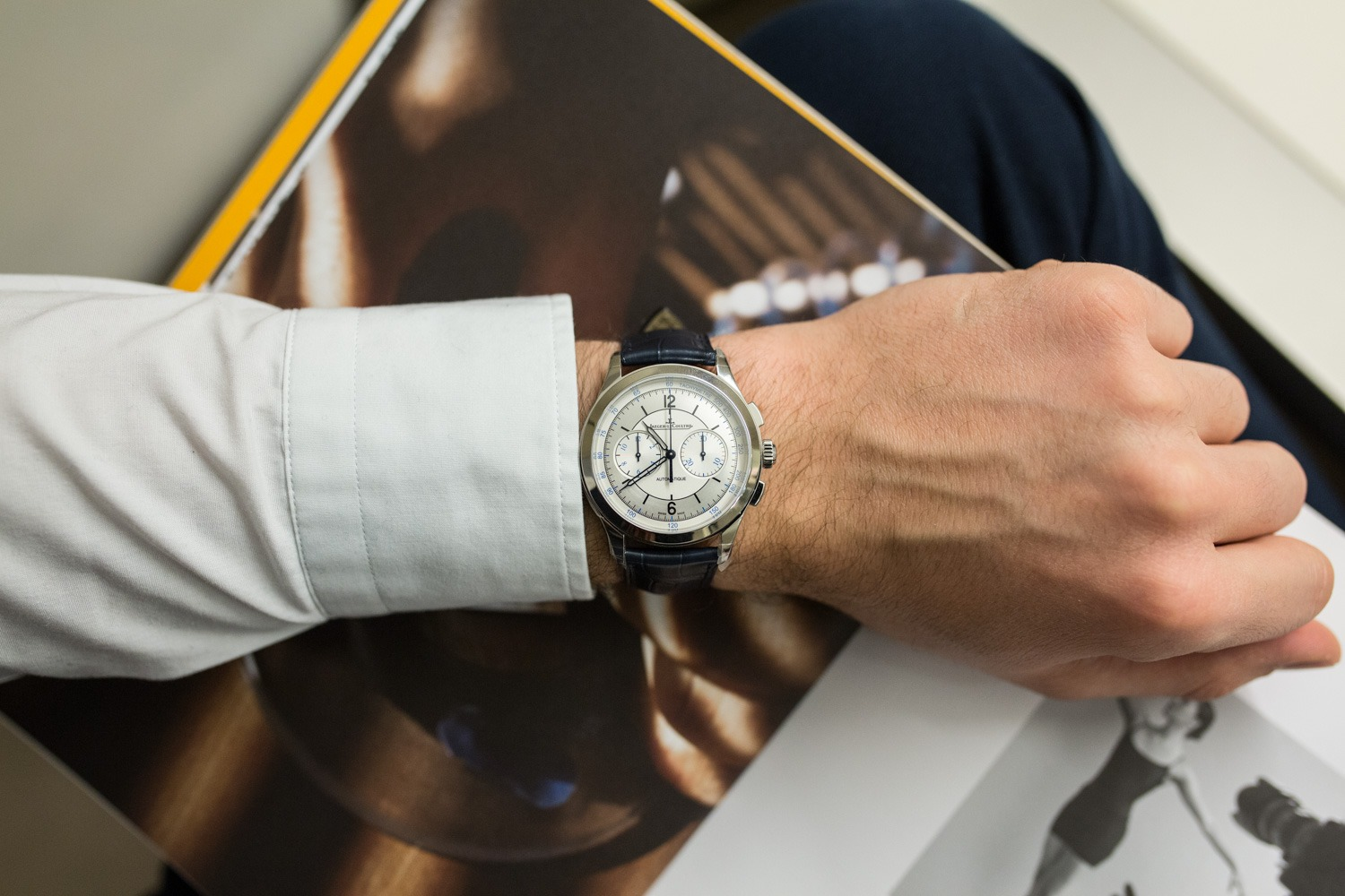 SIHH 2017 - Jaeger-LeCoultre Master Control Chronograph
