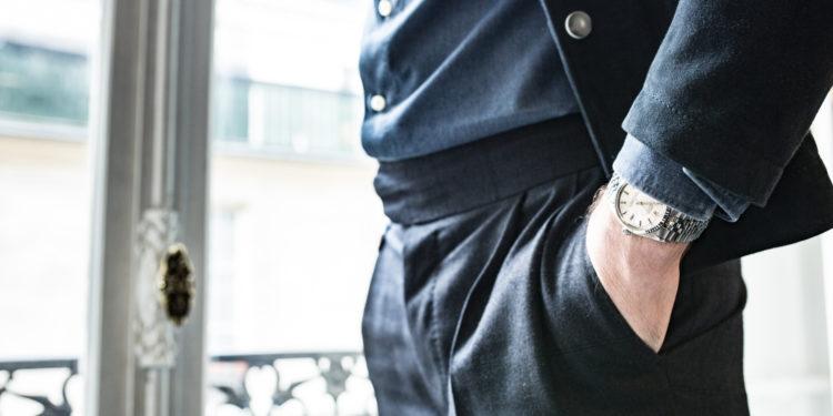 Veste en daim Commune de Paris -Rolex Datejust 1601