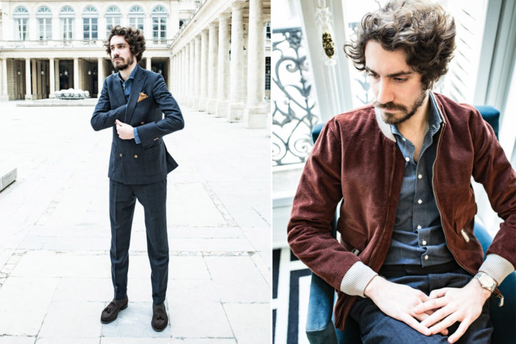 Costume croisé - Rolex Datejust 1601