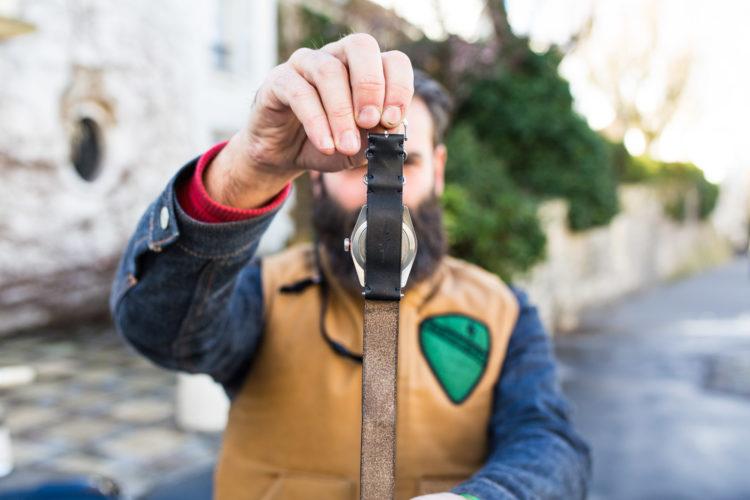 Bracelet Nato Blitz x Joseph Bonnie
