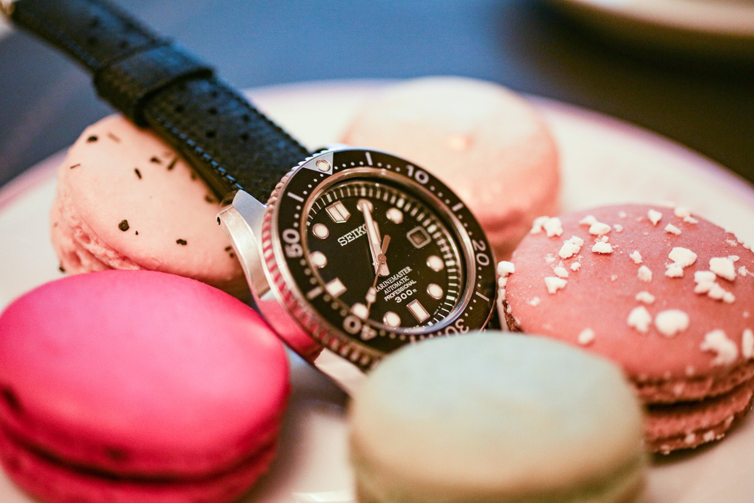 Seiko Marine Master 300 - The Watch Snack : Café Angelina