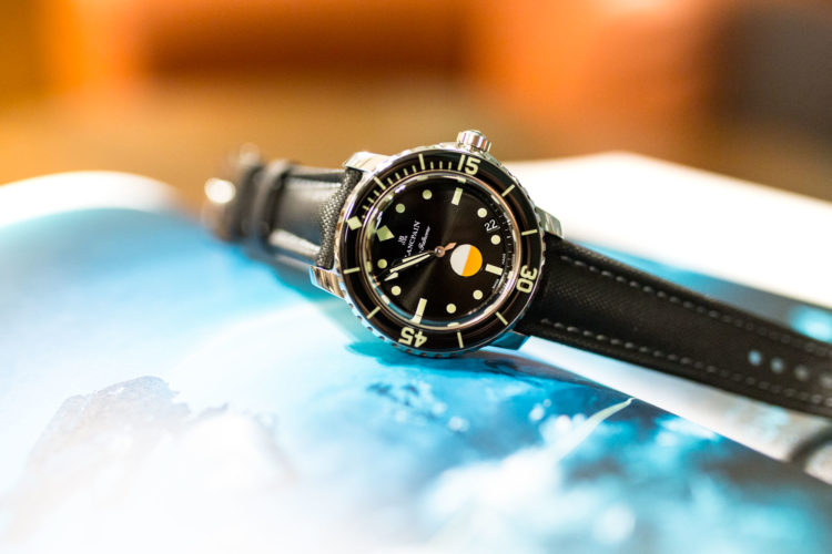 Baselworld 2017 - Blancpain Tribute to Fifty Fathoms MIL-SPEC
