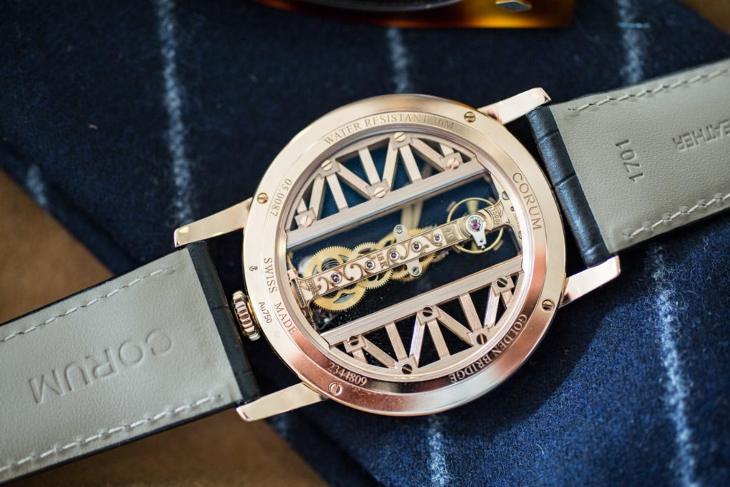 Corum Golden Bridge Round