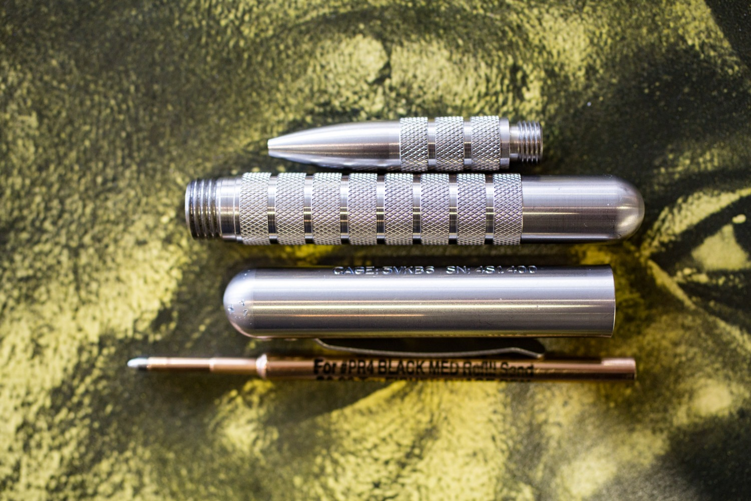 Embassy Pen - Stainless Steell