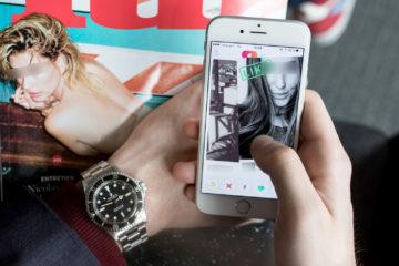 Tinder & affinités horlogères : It's a watch