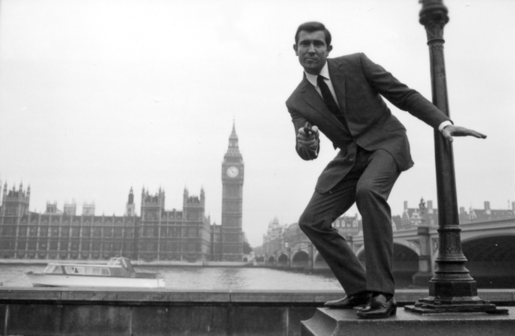 Georges Lazenby James Bond