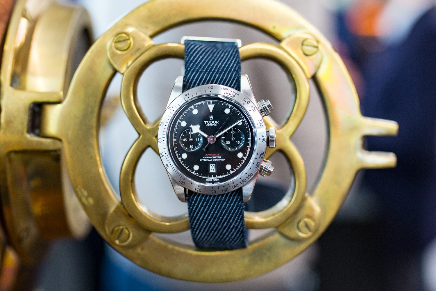 TUDOR Heritage Black Bay Chrono - Baselworld 2017