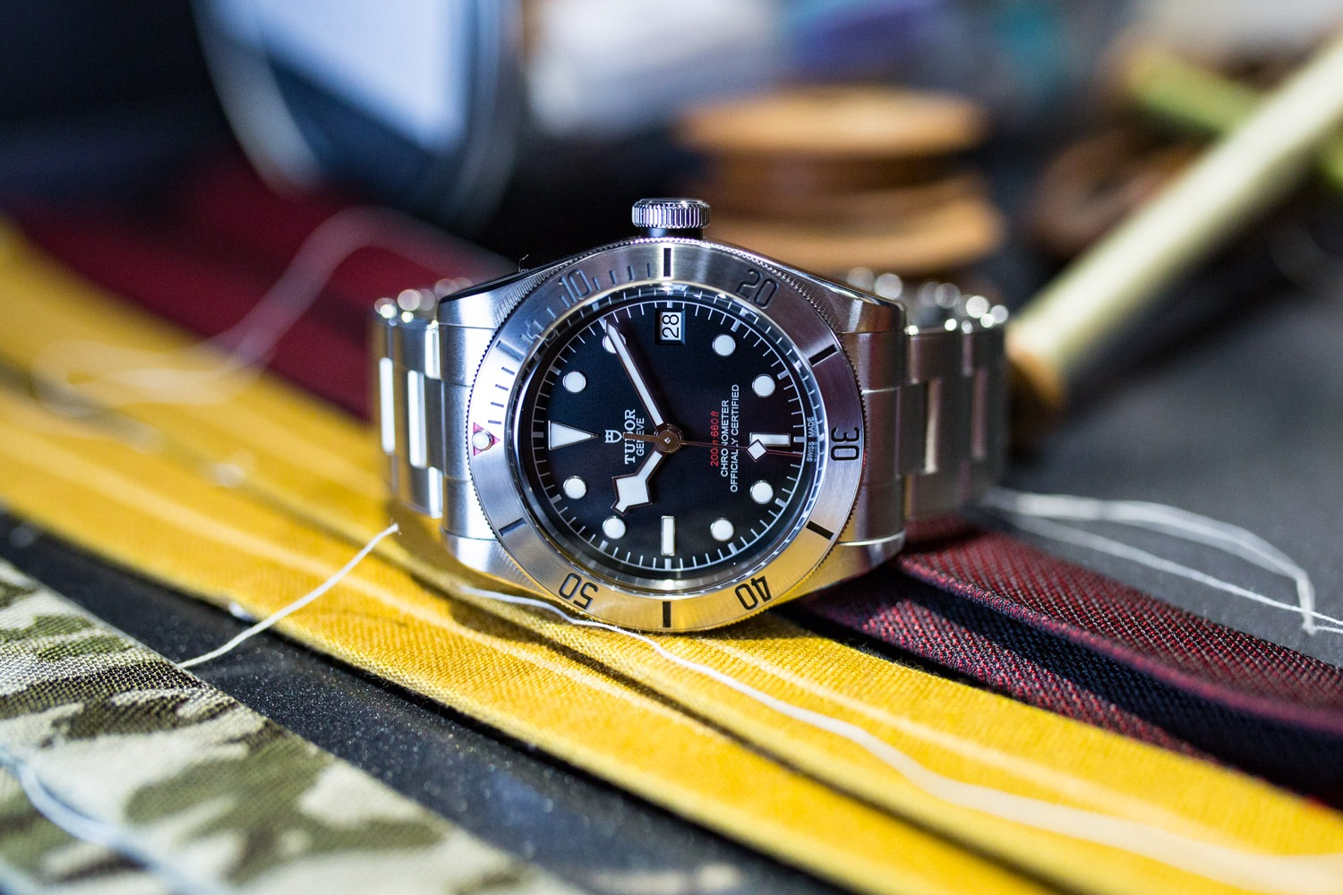 TUDOR Heritage Black Bay Steel - Baselworld 2017