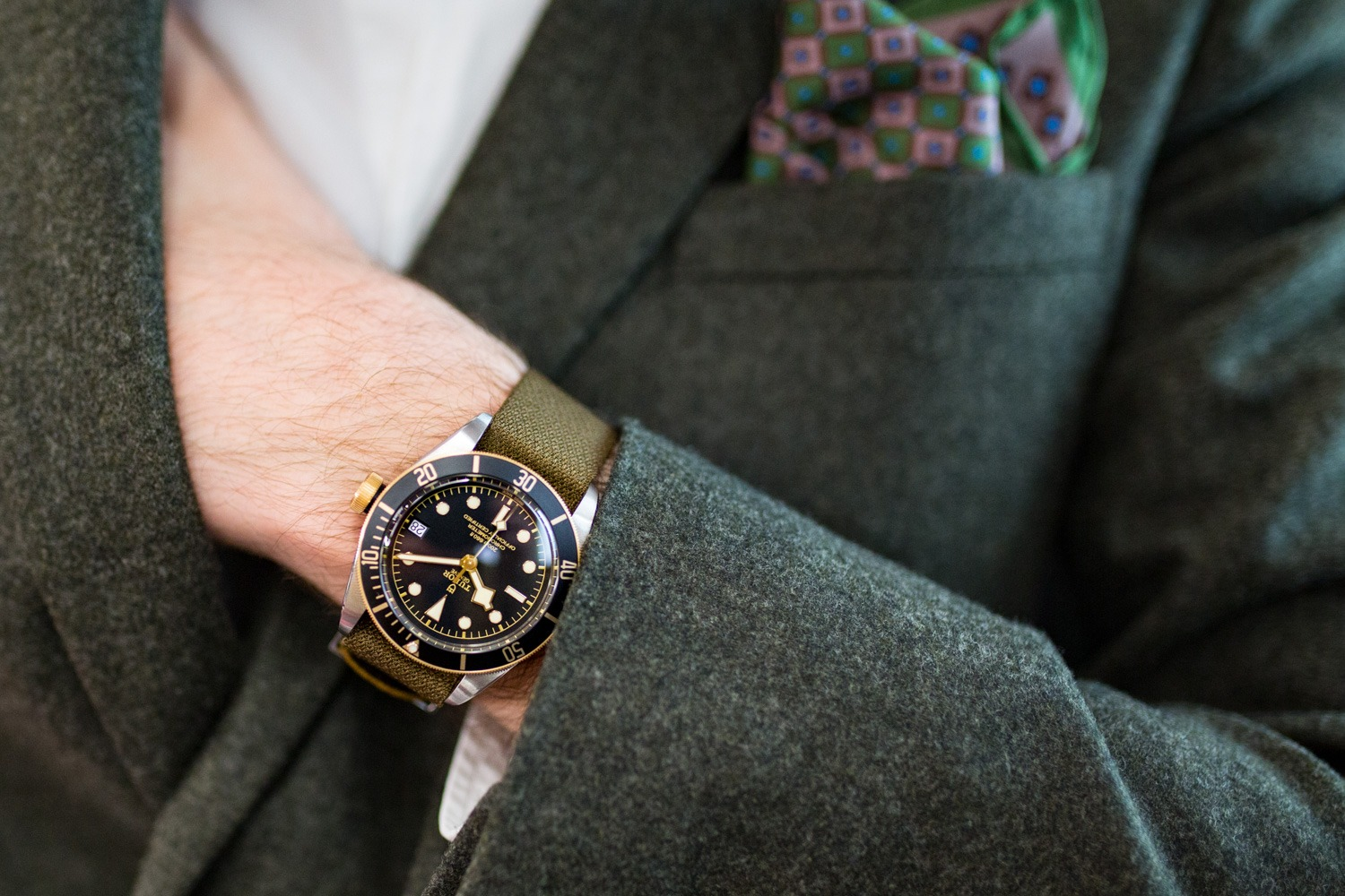 TUDOR Heritage Black Bay S&G - Baselworld 2017