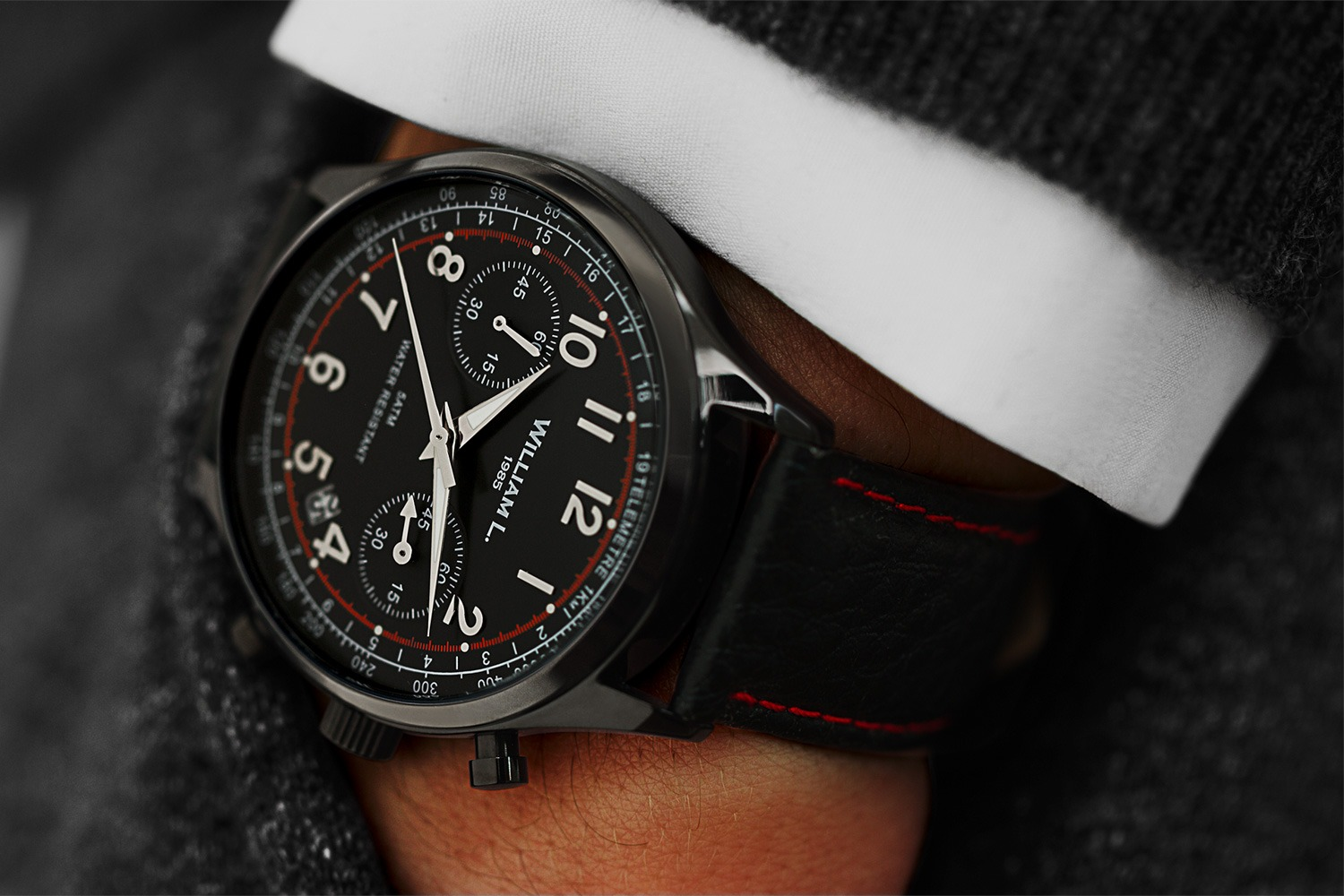 William L 1985 - Chronograph 5ATM