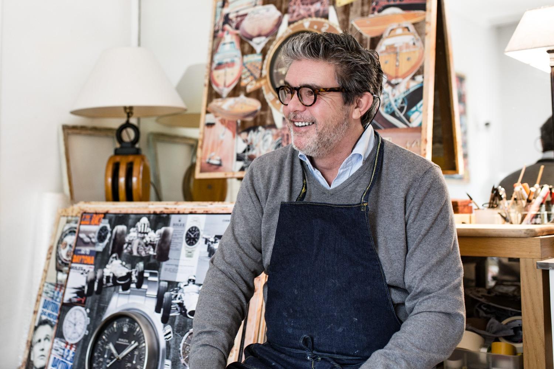 Alberto Cordiero : Un peintre & des horloges murales pas comme les autres