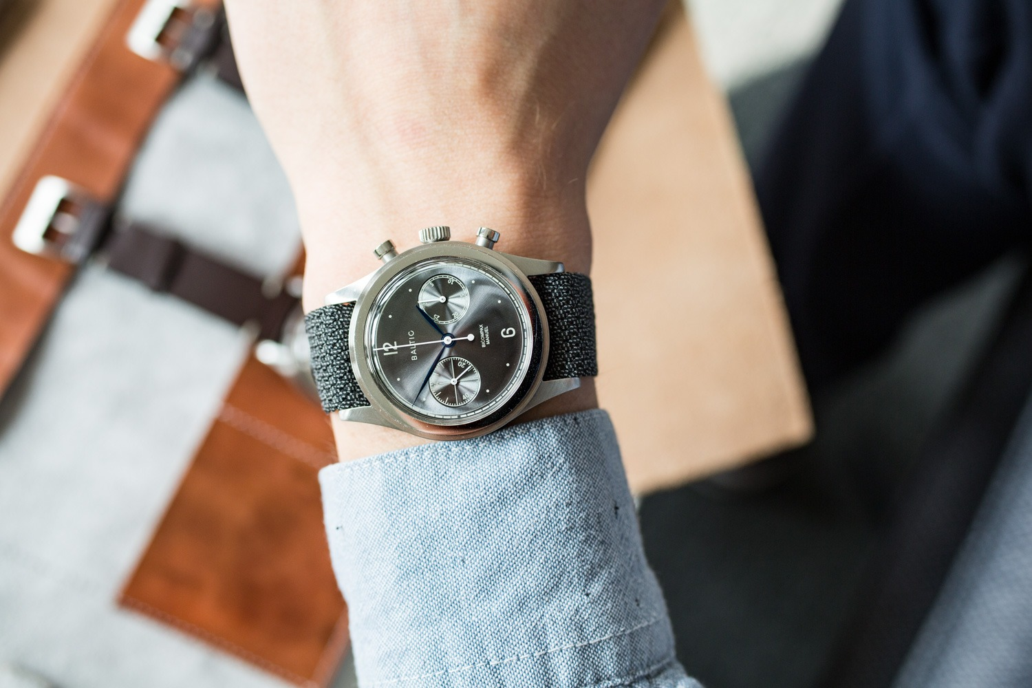 Baltic and Kickstarter - Bi-Compax Chronograph