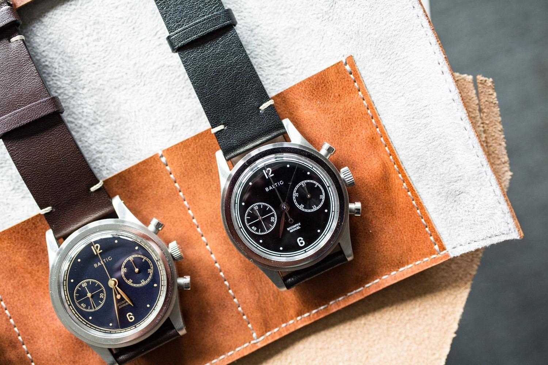 Baltic and Kickstarter - Bi-Compax Chronograph