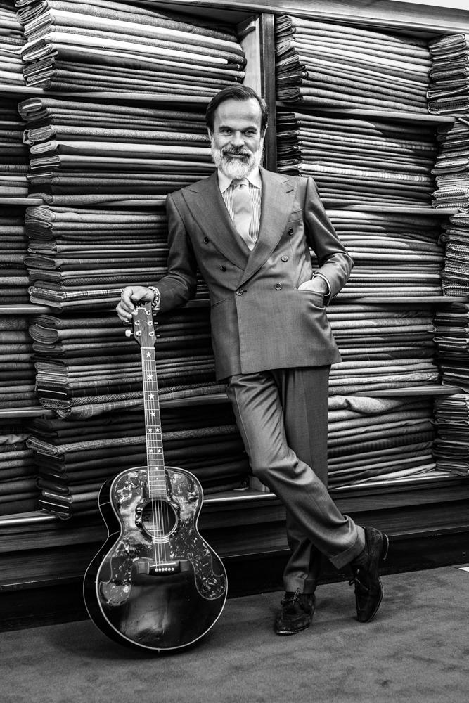Le Portrait - Lorenzo Cifonelli - Guitare Gibson