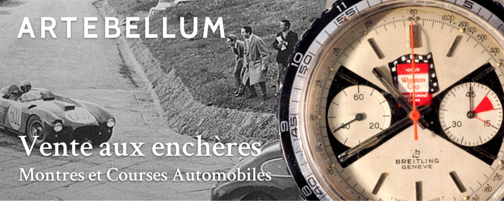Vente Artebellum - Montres et courses automobiles