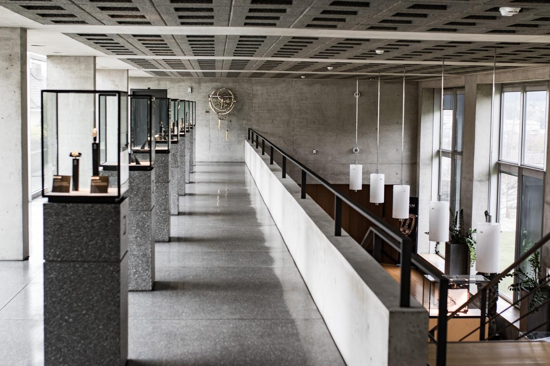 La Manufacture des montres Corum - Le bâtiment principal